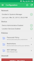 Screenshot of Meraki Systems Manager