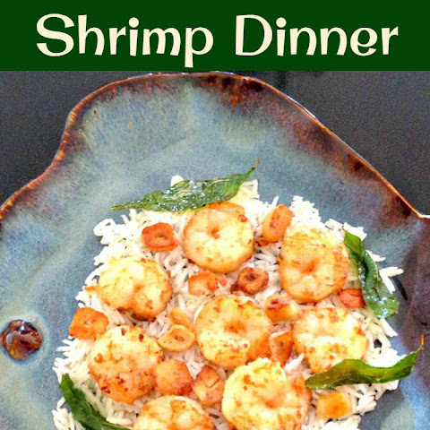 Garlic Butter Shrimp Dinner