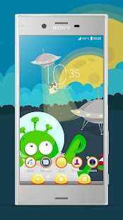 Xperia™ We Come in Peace Theme