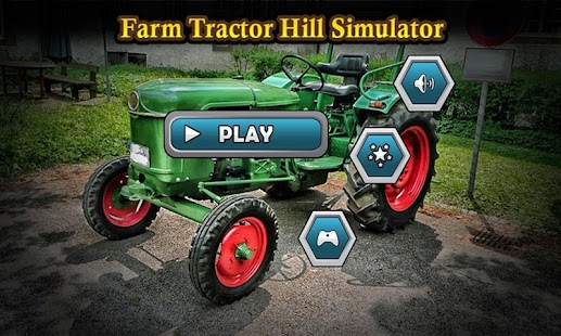 Farm Tractor Hill Simulator - screenshot