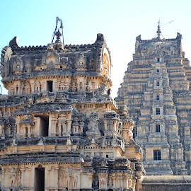 Temples in Hampi by Vivek Aggarwal - Buildings & Architecture Statues & Monuments (  )