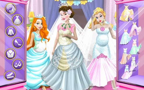 Wedding Pregnant Dressup