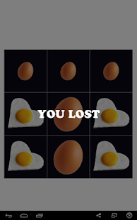 scrambled eggs(tic tac toe) - screenshot