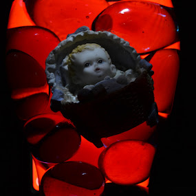 Baby In Marbles 2 by Kirk Arnaiz - Artistic Objects Other Objects