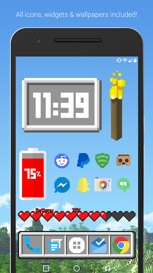 Themecraft Pro - 8-Bit Theme Screenshot 0