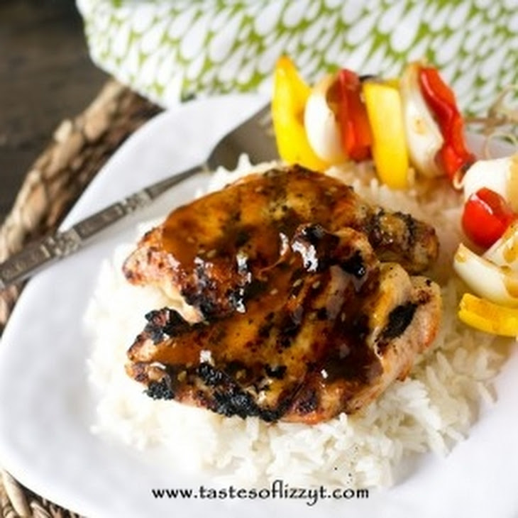Easy Grilled Teriyaki Chicken Recipe | Yummly