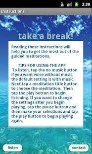 Free Meditation - Take a Break