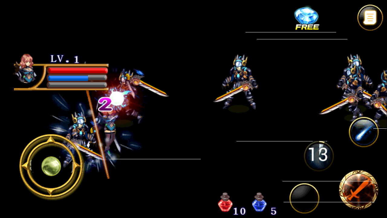 Lost Kingdom Dragon Knights Screenshot