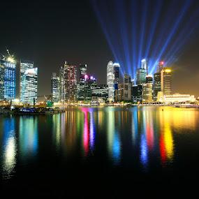 Marina Laser by Alit  Apriyana - City,  Street & Park  Vistas