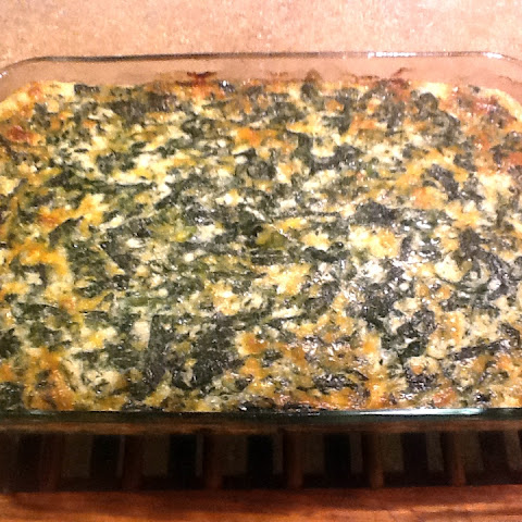 Spinach Casserole, Main Dish, Side Dish or Dip (S)