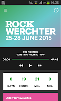 Screenshot of Rock Werchter 2015