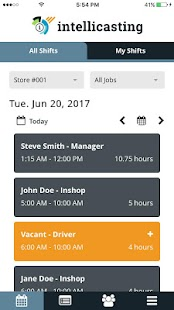 Intellicasting Business app for Android Preview 1