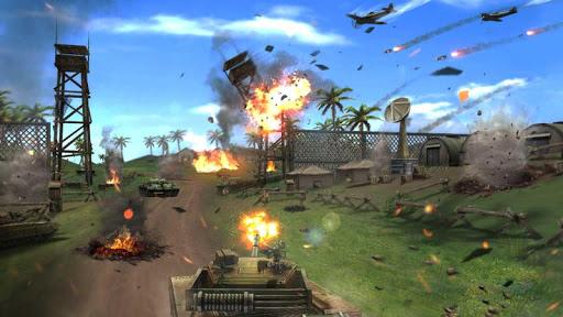 Crazy Tank: cross the frontier - screenshot