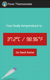 Fever Thermometer PRANK- screenshot thumbnail