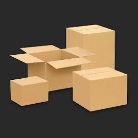 Přepravní krabice - klopové