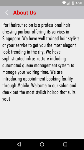 Pari Hair Cut Salon APK