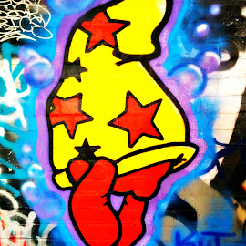 by Sam Medzic - Novices Only Abstract ( graffiti, street art,  )