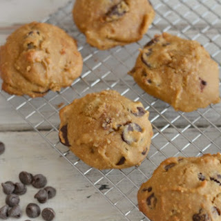Gluten Free Orange Infused Olive Oil Chocolate Chip Cookies