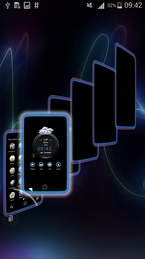 TSF Shell Theme Tfou HD Screenshot 3