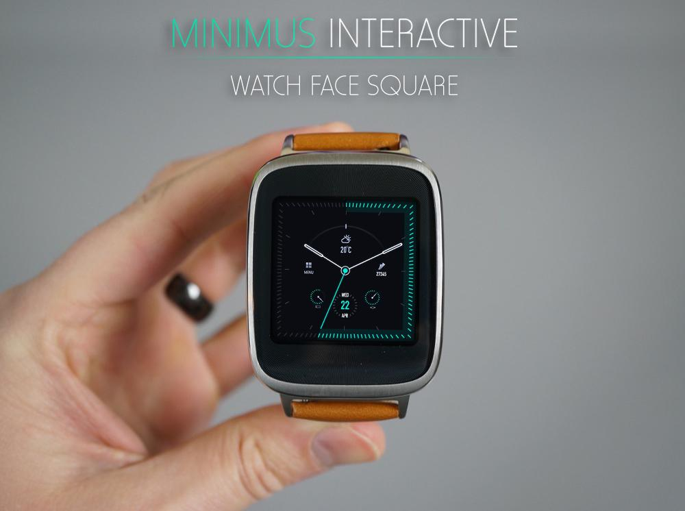 Minimus Interactive Watch Face Screenshot 7