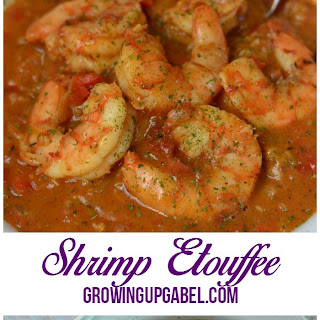 Easy Shrimp Etouffee