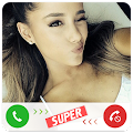 Fake Call Ariana Grande APK for Bluestacks