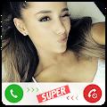 Game Fake Call Ariana Grande apk for kindle fire