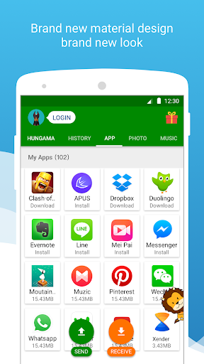 Xender Apk Download Free for PC, smart TV