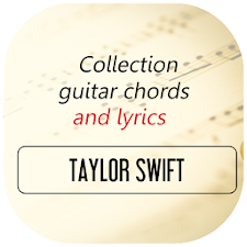 Guitar Chords of Taylor Swift