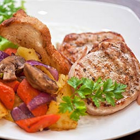 Pork Chops with Dijon Mustard Sauce