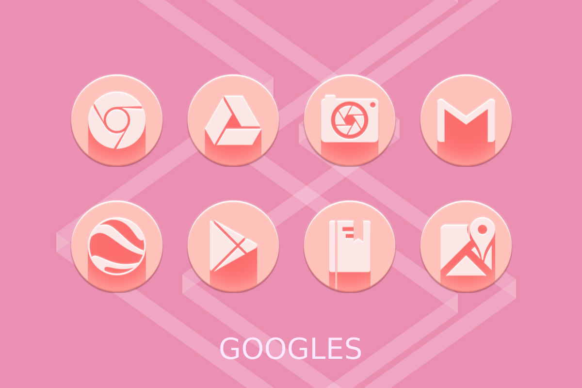Pink Multilauncher Icon Pack Screenshot 16