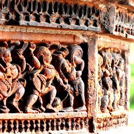 Antiquity of Terakota work by Mainak Adak - Buildings & Architecture Architectural Detail ( temple, statue, building, art, architecture )