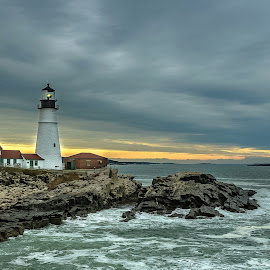 Portland Head Light by Ioannis Alexander - Landscapes Travel