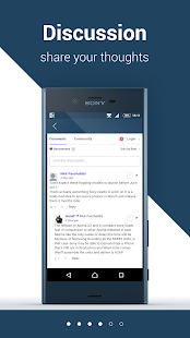 Xperia Blog News App Screenshot