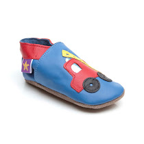 Starchild Fire Engine PRAM SHOE