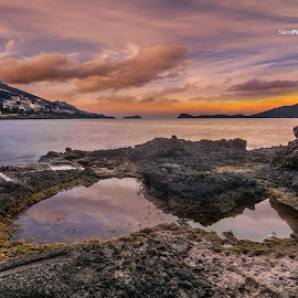 Reflections by Sakis Pilatos - Landscapes Waterscapes ( sky, pilatos, sakis, sea, reflections,  )