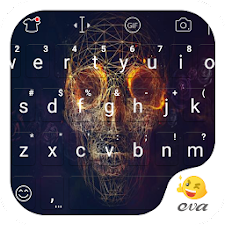 Cloud Skull Emoji Keyboard