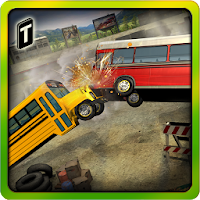 Demolition Derby: School Bus For PC (Windows And Mac)