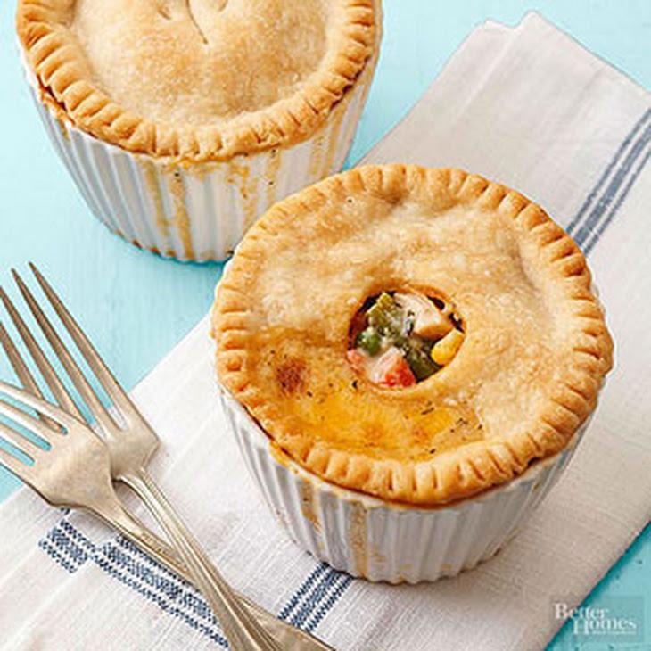 Individual Chicken Pot Pies Recipes — Dishmaps