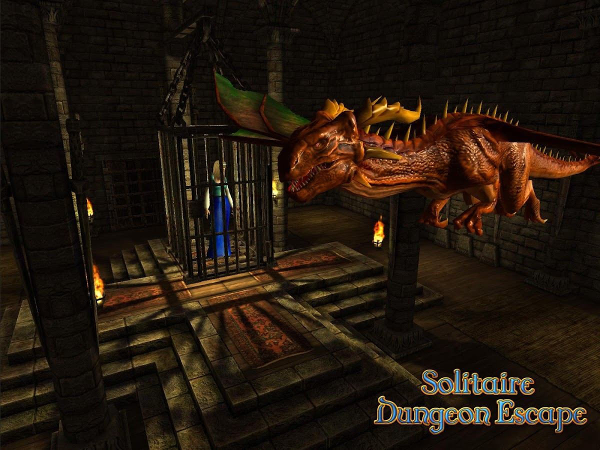 Solitaire Dungeon Escape Screenshot 5