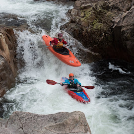 Room for one on top? by Paul Young - Sports & Fitness Watersports