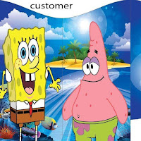 SPONGEBOB SQUARE PANTS BOUNCY CASTLE FOR HIRE