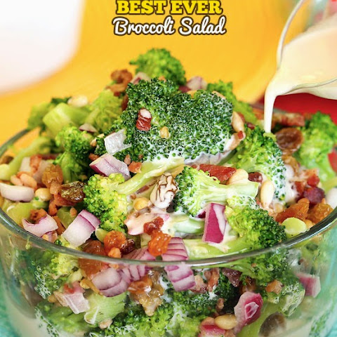 The Best Ever Broccoli Salad