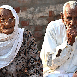 Old couple by Abrar Rafiq - People Couples ( old, wife, age, couple, husband )