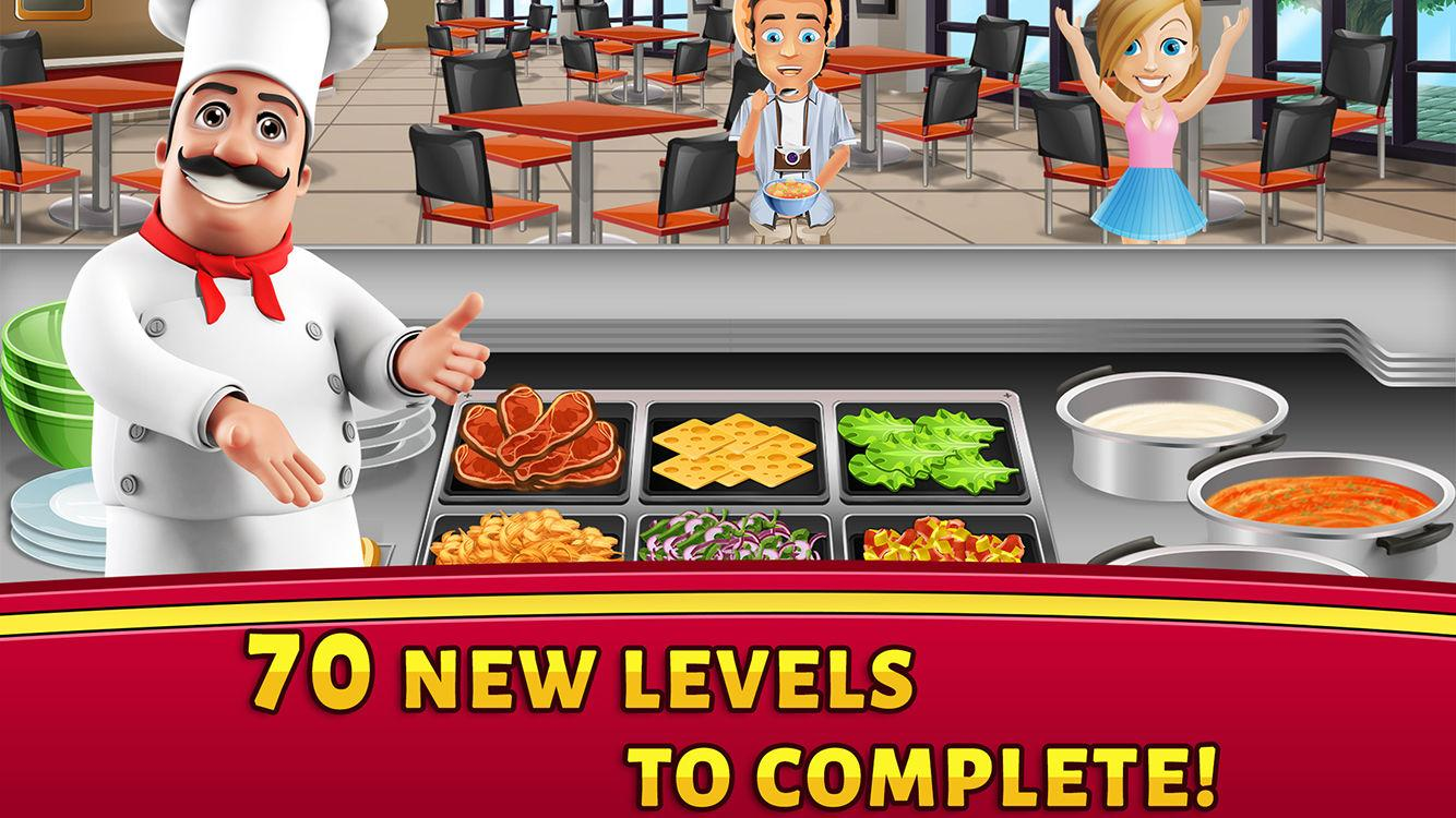 Deli Dash Cooking Scramble Screenshot 3