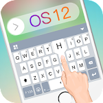 New Cool OS 12 Keyborad Theme Icon