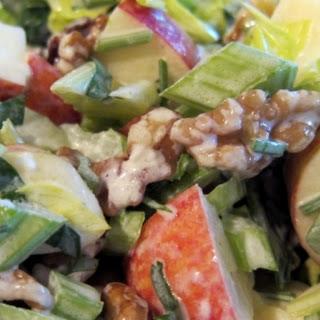 Waldorf Salad No Mayo Apples Heavy Cream Recipes