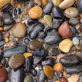 by Jim Jones - Abstract Patterns ( abstract, oregon coast, rocks )