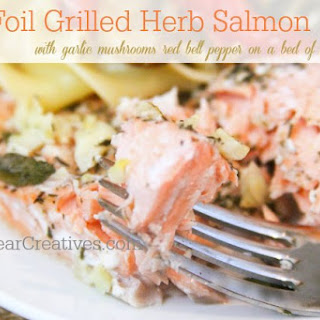 Grilled Salmon with Herbs & Garlic #Recipe