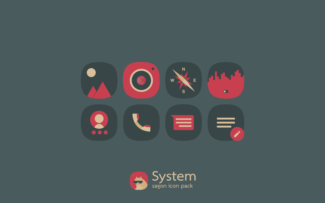 Sagon Icon Pack Screenshot 3
